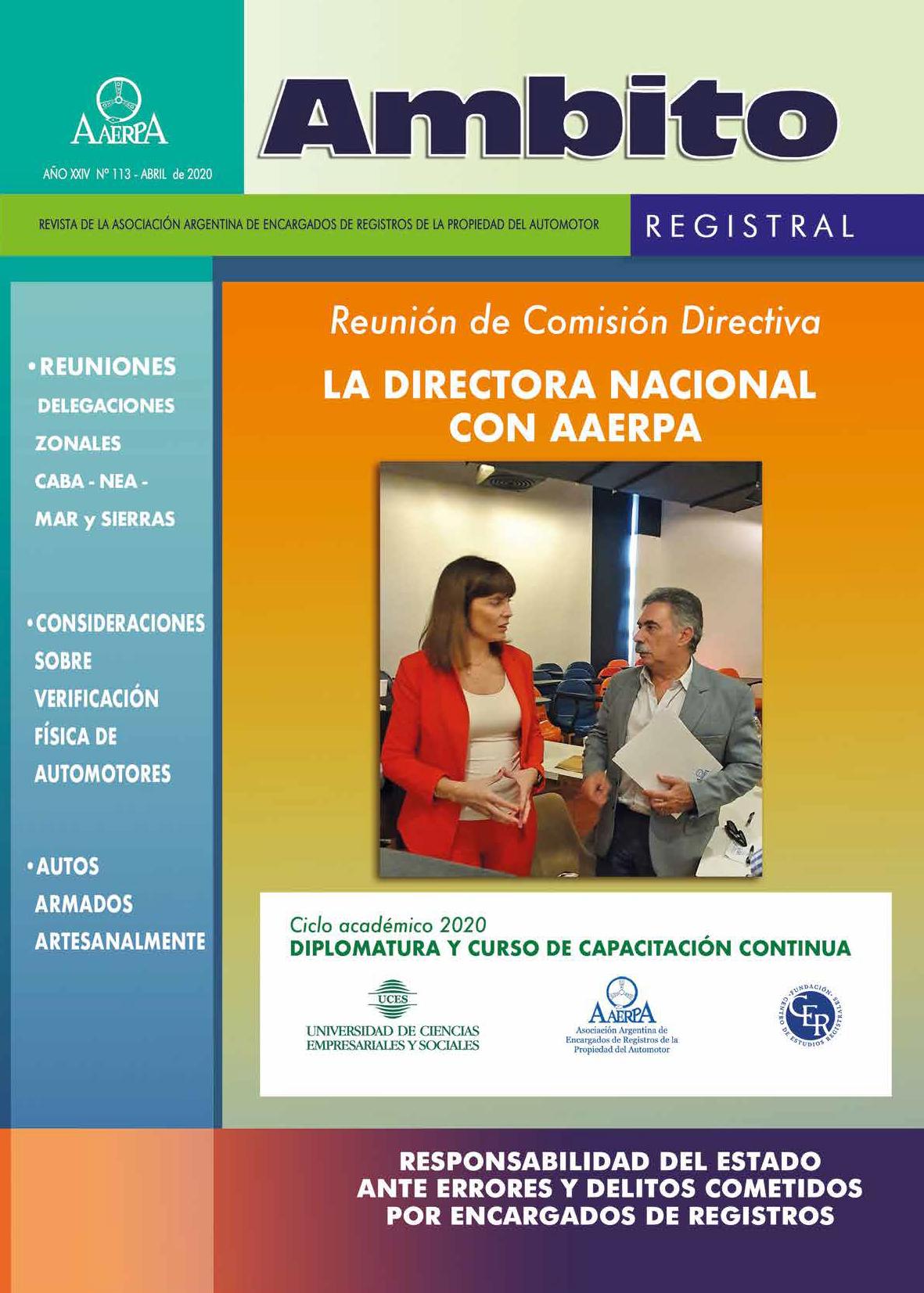 Revista Ámbito Registral Nº 113