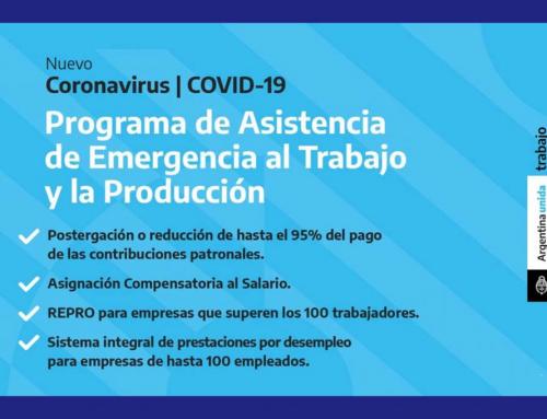 Pedido de inclusión al Programa de Asistencia de Emergencia