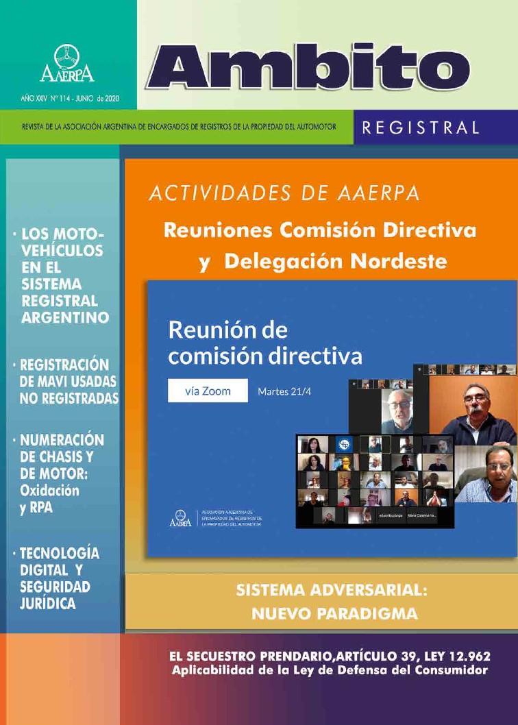 Revista Ámbito Registral Nº 114