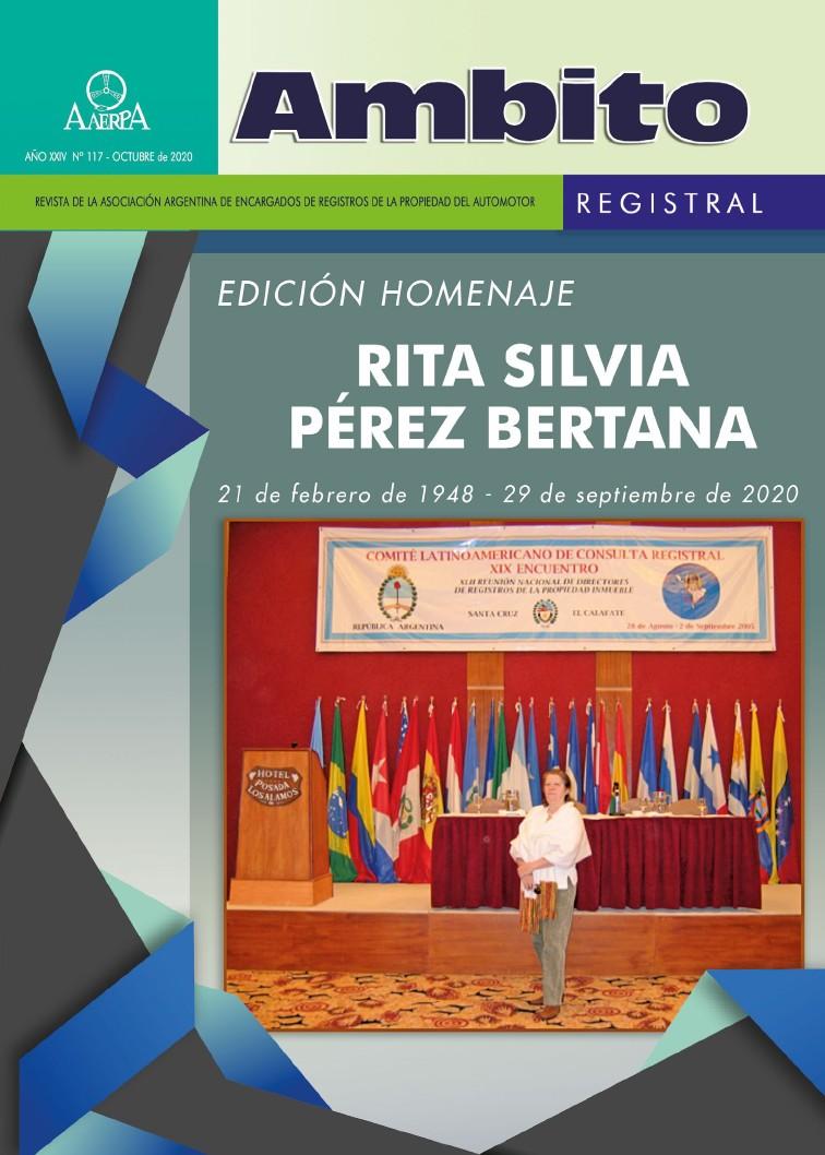 Revista Ámbito Registral Edición Especial Homenaje a Rita