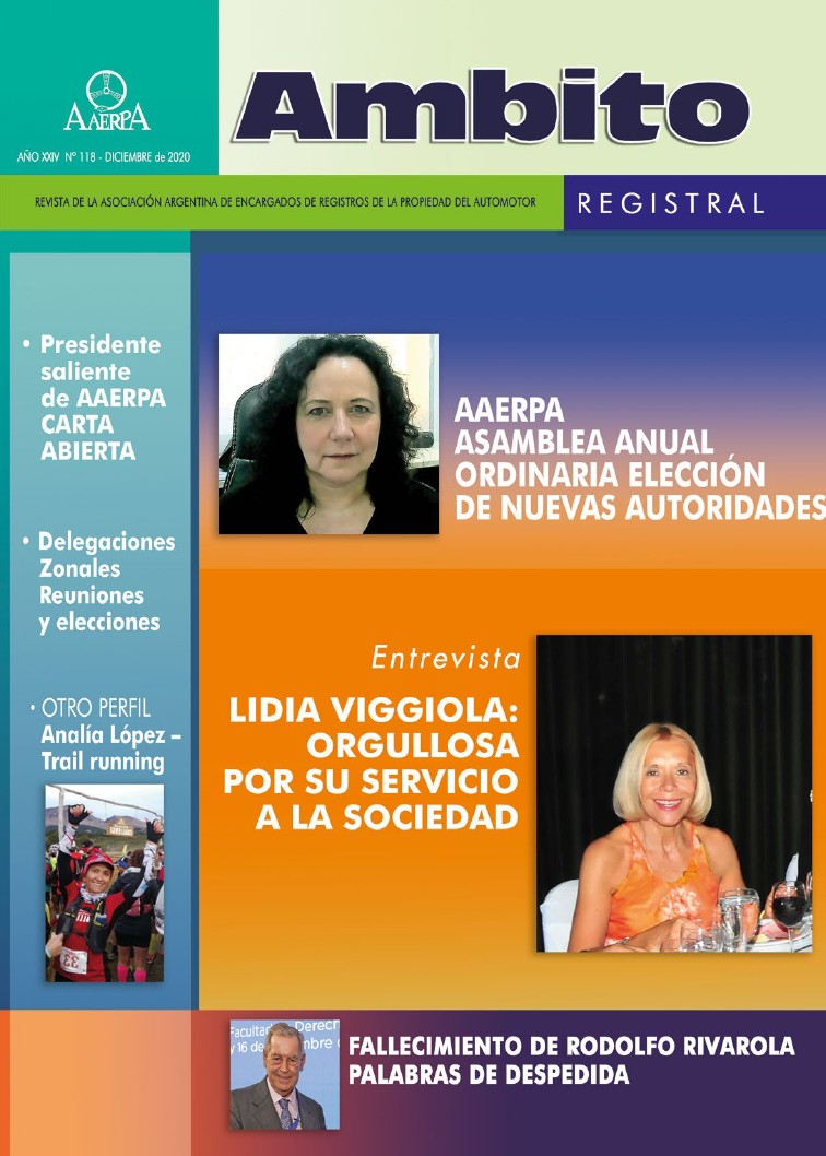 Revista Ámbito Registral Nº 116