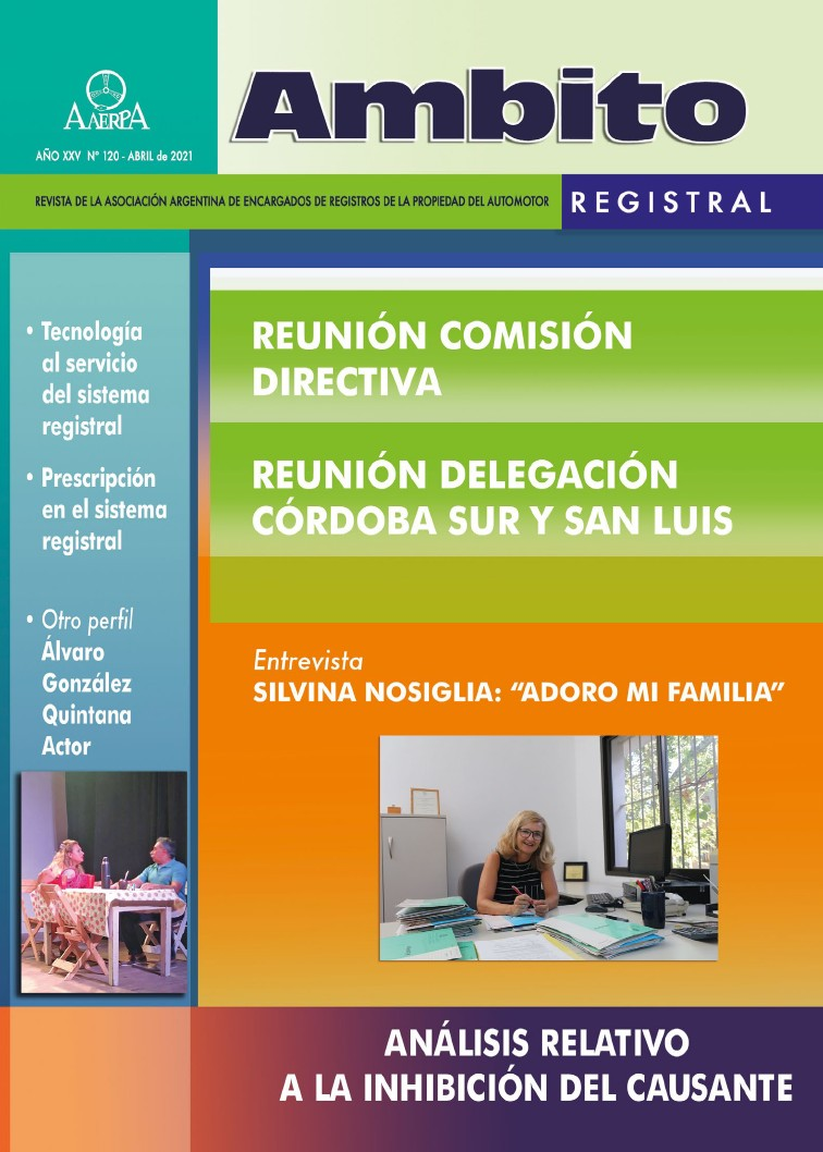 Revista Ámbito Registral 120