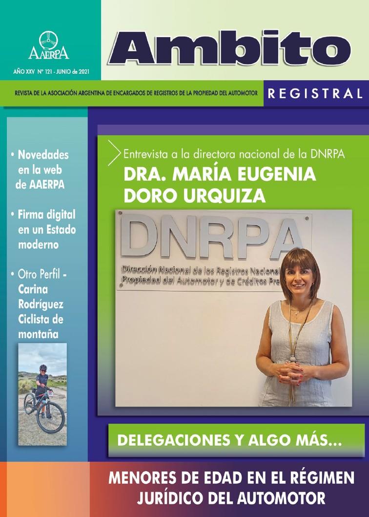 Revista Ámbito Registral 121