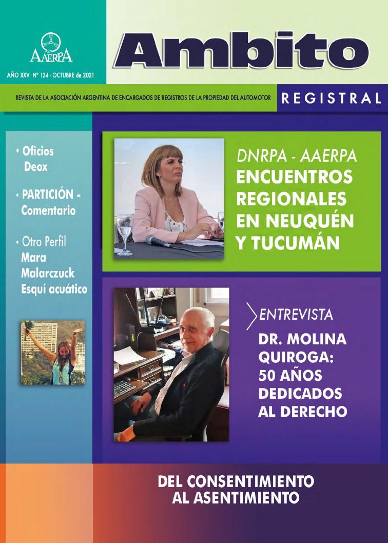 Revista Ámbito Registral N° 124